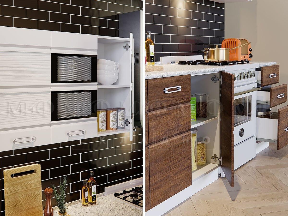 Кухонный гарнитур Техно-2 фото 2 | интернет-магазин Складно
