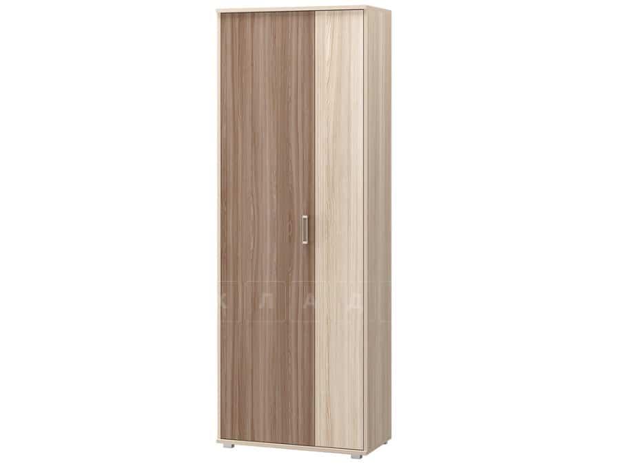 Шкаф комбинированный Визит-9 со штангой и полками фото 1 | интернет-магазин Складно