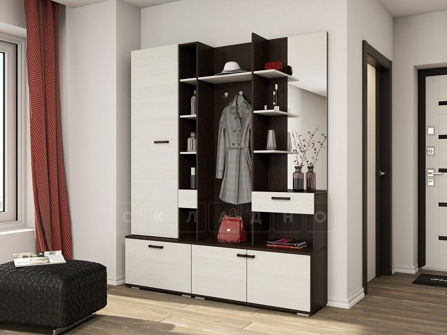 Прихожая Инес со шкафом фото 3 | интернет-магазин Складно