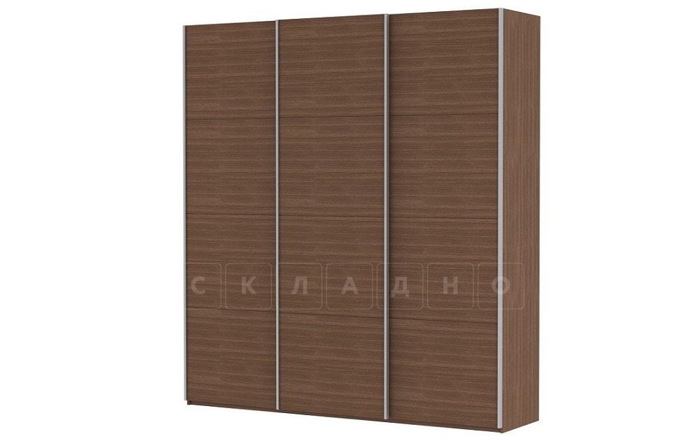 Шкаф-купе Прайм трехдверный ширина 210 см без зеркал фото 5 | интернет-магазин Складно