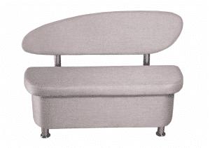 Кухонный диван Техно прямой 120 см фото | интернет-магазин Складно