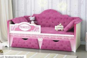 Детская кровать Принцесса 160 см 14950 рублей, фото 5 | интернет-магазин Складно