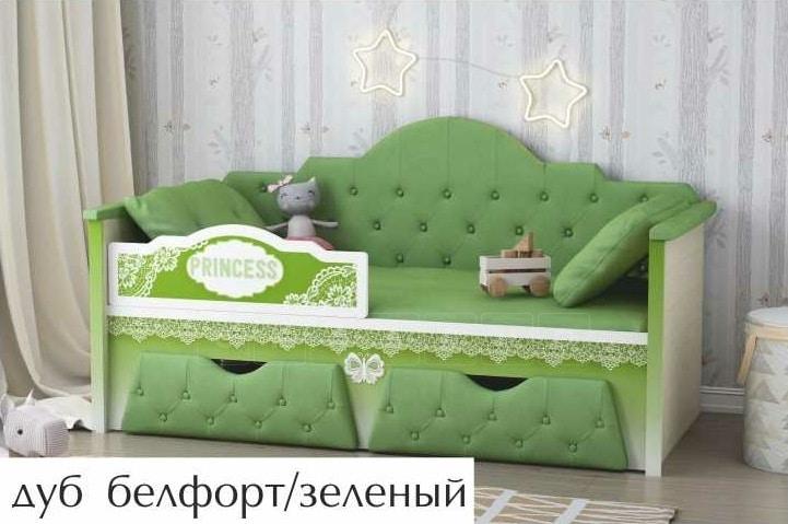 Детская кровать Принцесса 160 см фото 2 | интернет-магазин Складно