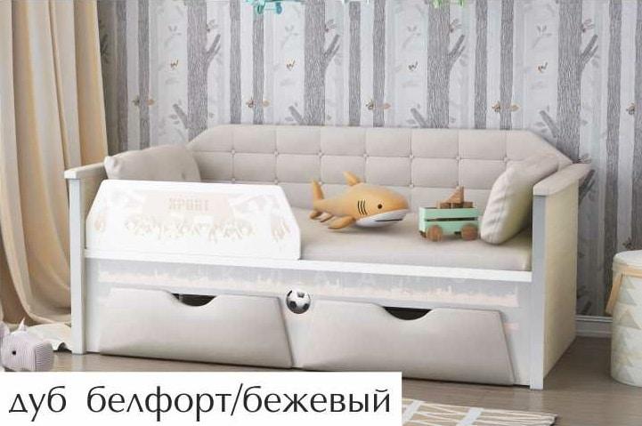 Детская кровать Спорт 180 см фото 3 | интернет-магазин Складно