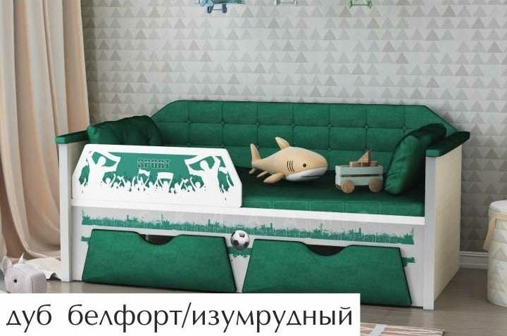 Детская кровать Спорт 160 см фото 1   интернет-магазин Складно