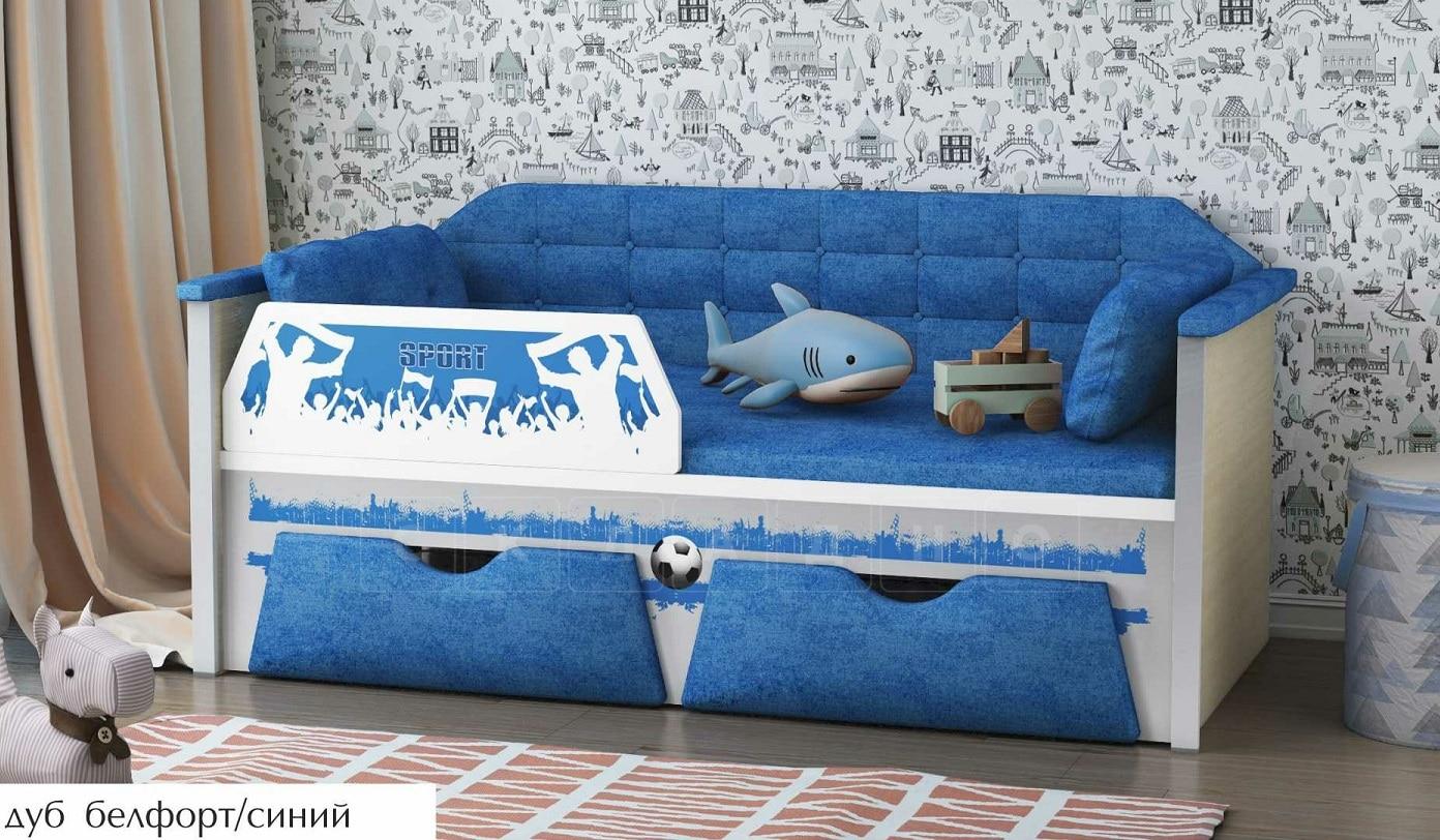 Детская кровать Спорт 180 см фото 5 | интернет-магазин Складно
