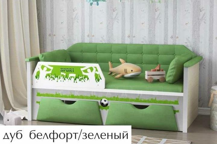 Детская кровать Спорт 180 см фото 2 | интернет-магазин Складно