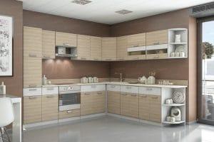 Кухня угловая Эра 16 модулей 37460 рублей, фото 2 | интернет-магазин Складно