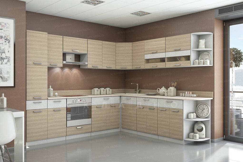 Кухня угловая Эра 16 модулей фото 2 | интернет-магазин Складно