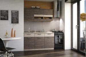 Кухонный навесной шкаф Эра ШВСГ80 горизонтальный со стеклом 2170 рублей, фото 3 | интернет-магазин Складно