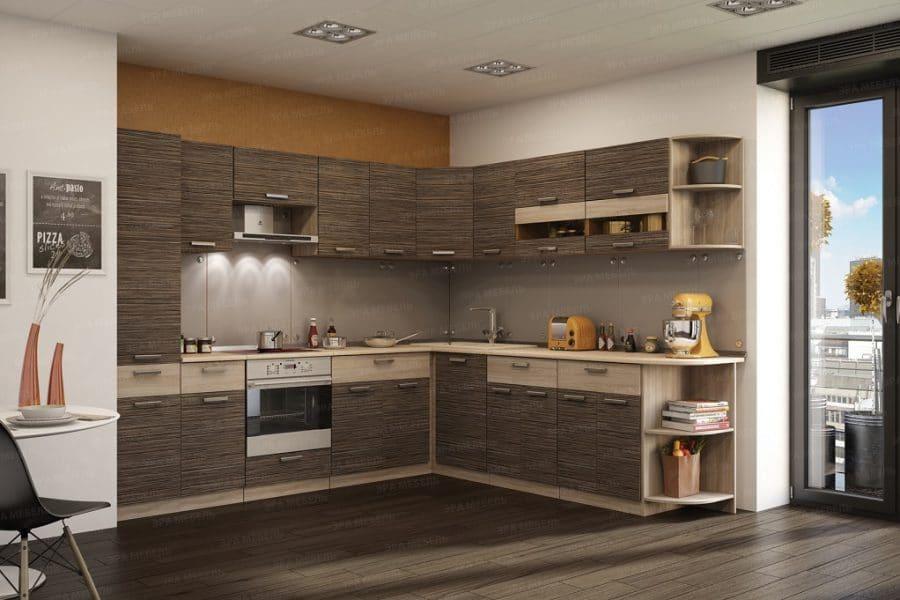 Кухня угловая Эра 16 модулей фото | интернет-магазин Складно