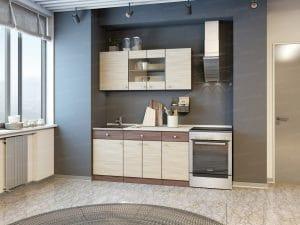 Кухонный гарнитур Шимо 1,5 м фото | интернет-магазин Складно