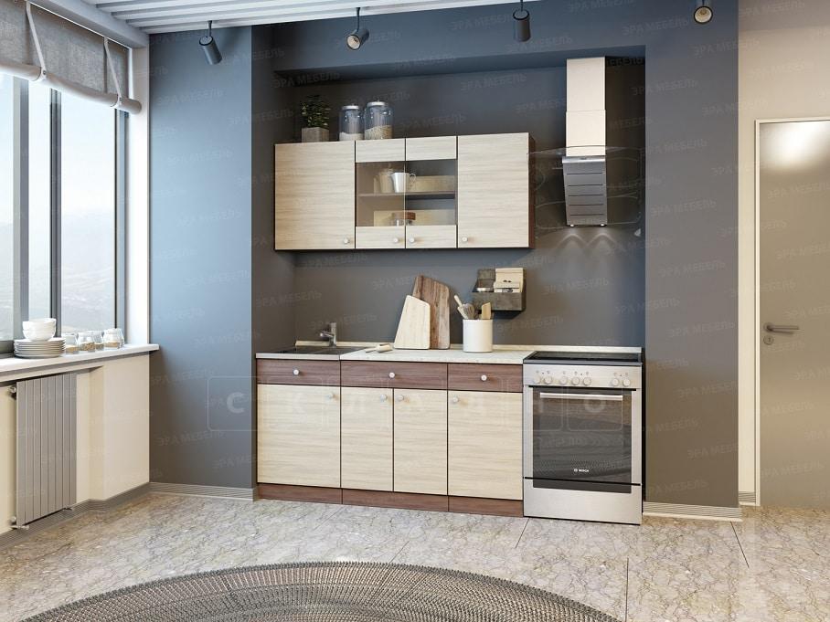 Кухонный гарнитур Шимо 1,5 м фото 1 | интернет-магазин Складно