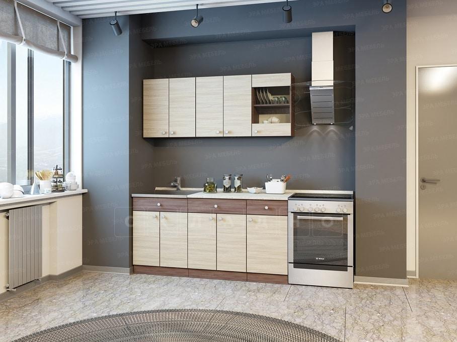 Кухонный гарнитур Шимо 1,6 м фото 1 | интернет-магазин Складно