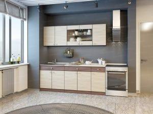 Кухонный гарнитур Шимо 2,0 м фото | интернет-магазин Складно