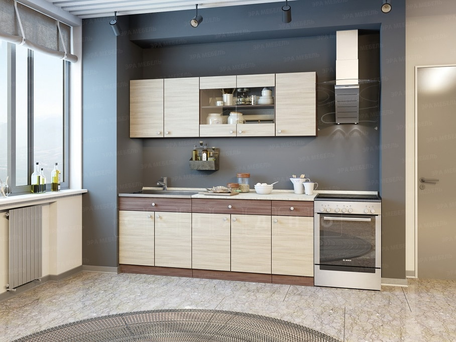 Кухонный гарнитур Шимо 2,0 м фото 1 | интернет-магазин Складно