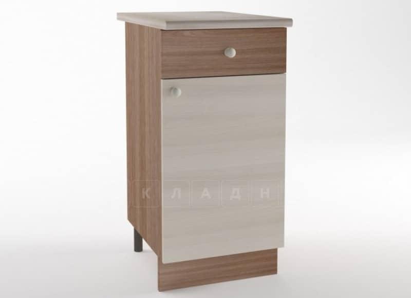 Кухонный шкаф напольный Шимо ШН40 с 1 ящиком фото 1 | интернет-магазин Складно