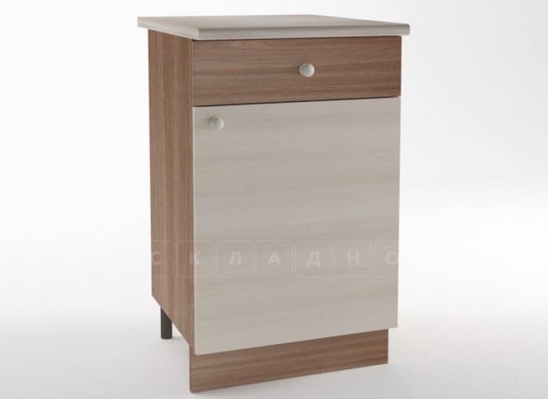 Кухонный шкаф напольный Шимо ШН50 с 1 ящиком фото 1 | интернет-магазин Складно
