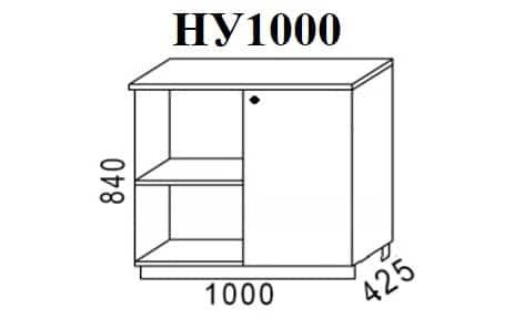 Кухонный шкаф напольный угловой Шимо ШНУ100 фото 1 | интернет-магазин Складно