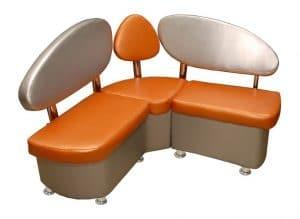 Кухонный диван Техно 120х120 см Мини фото | интернет-магазин Складно