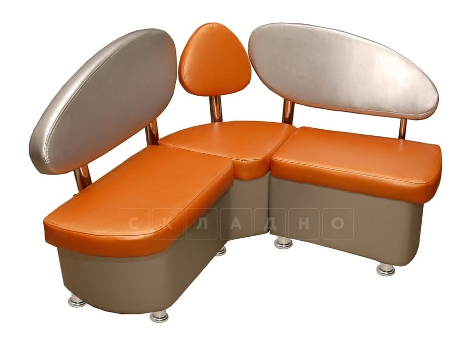 Кухонный диван Техно 120х120 см Мини фото 1 | интернет-магазин Складно
