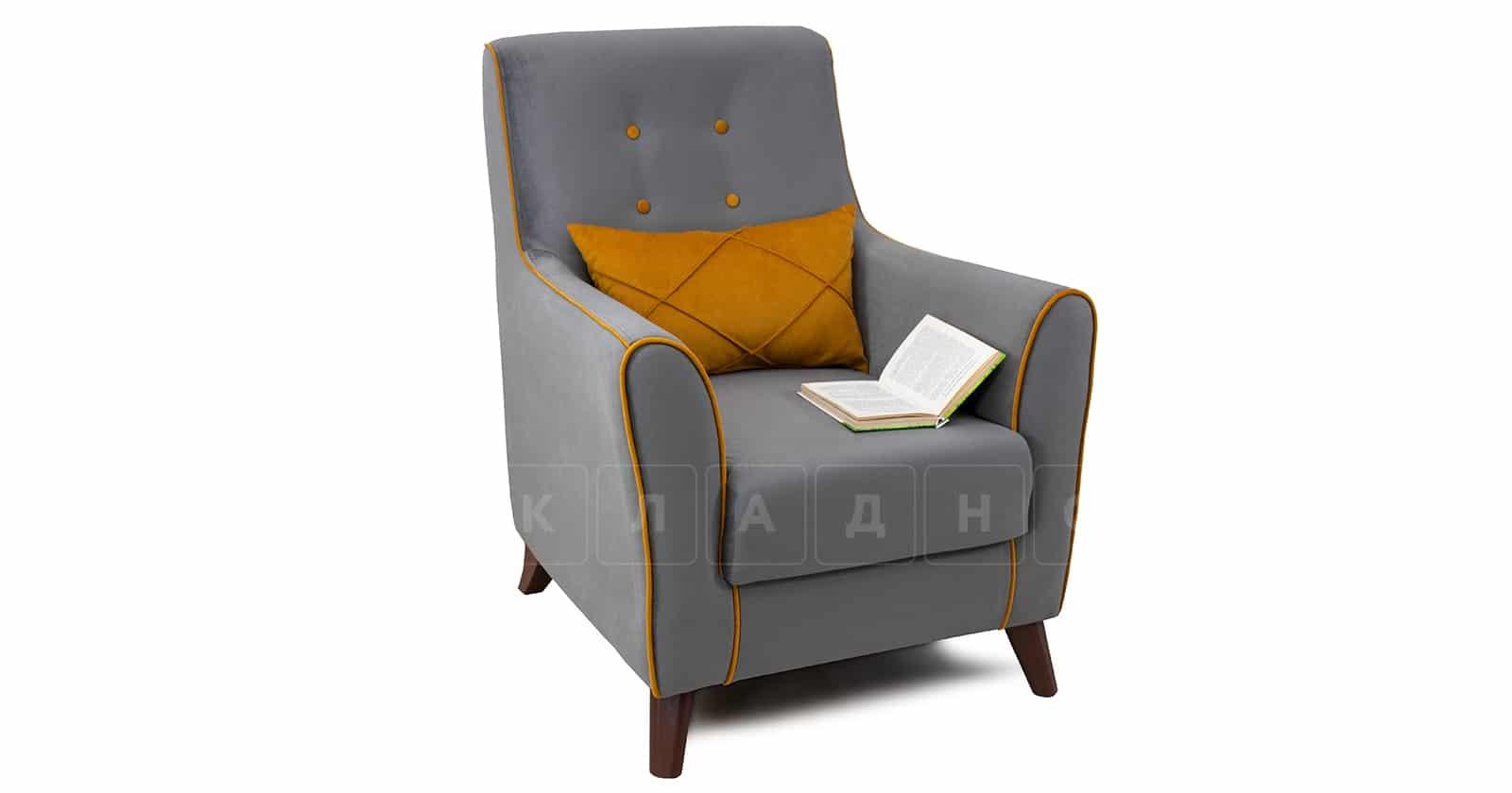 Кресло для отдыха Флэтфорд кварцевый серый фото 5   интернет-магазин Складно