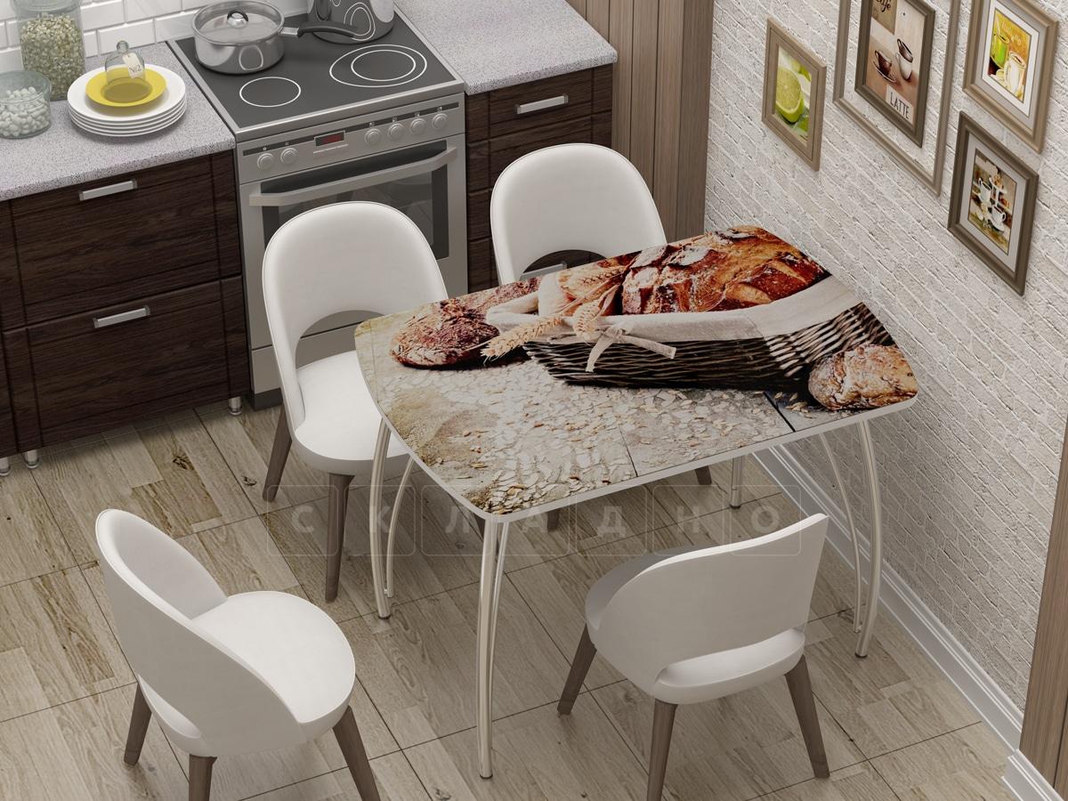 Стол нераздвижной Бочонок с фотопечатью Хлеб фото 1 | интернет-магазин Складно