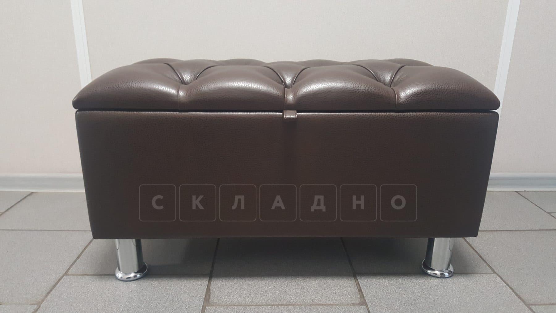 Банкетка Siesta в экокоже фото 3 | интернет-магазин Складно