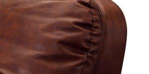 Кресло Бристоль кожаное коричневого цвета 20950 рублей, фото 5 | интернет-магазин Складно