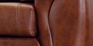Кресло Бристоль кожаное коричневого цвета 20950 рублей, фото 6 | интернет-магазин Складно