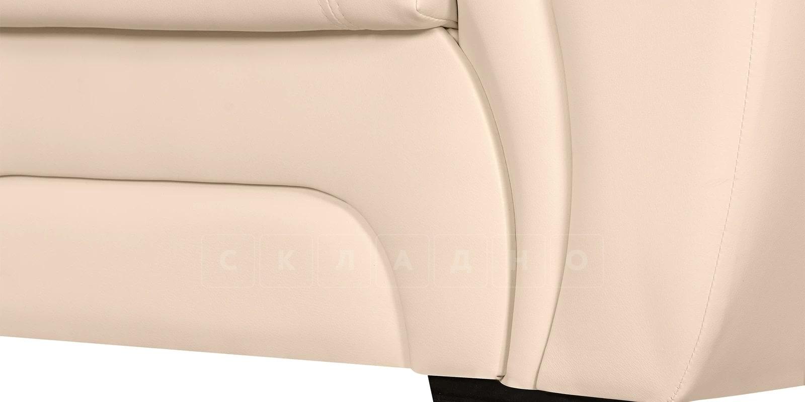 Кресло Бристоль кожаное бежевого цвета фото 7 | интернет-магазин Складно