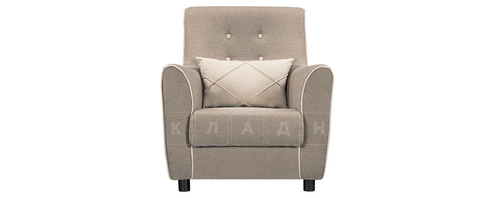 Кресло Флэтфорд рогожка серая фото 2 | интернет-магазин Складно
