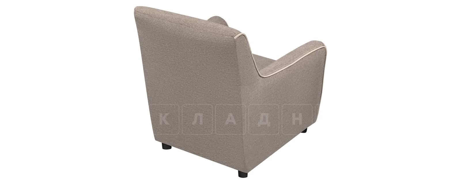 Кресло Флэтфорд рогожка серая фото 3 | интернет-магазин Складно