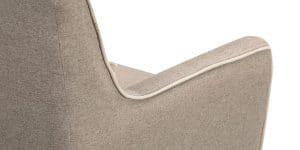 Кресло Флэтфорд рогожка серая 6190 рублей, фото 4 | интернет-магазин Складно