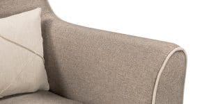 Кресло Флэтфорд рогожка серая 6190 рублей, фото 6 | интернет-магазин Складно