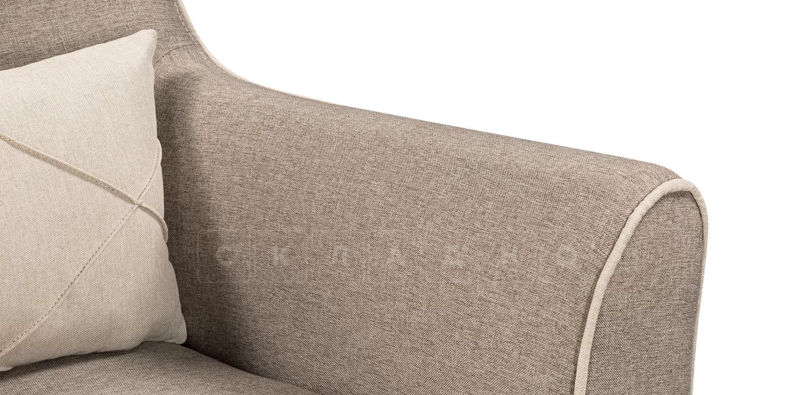 Кресло Флэтфорд рогожка серая фото 6 | интернет-магазин Складно