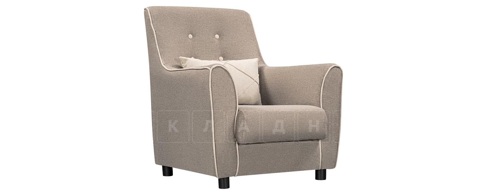 Кресло Флэтфорд рогожка серая фото 1 | интернет-магазин Складно