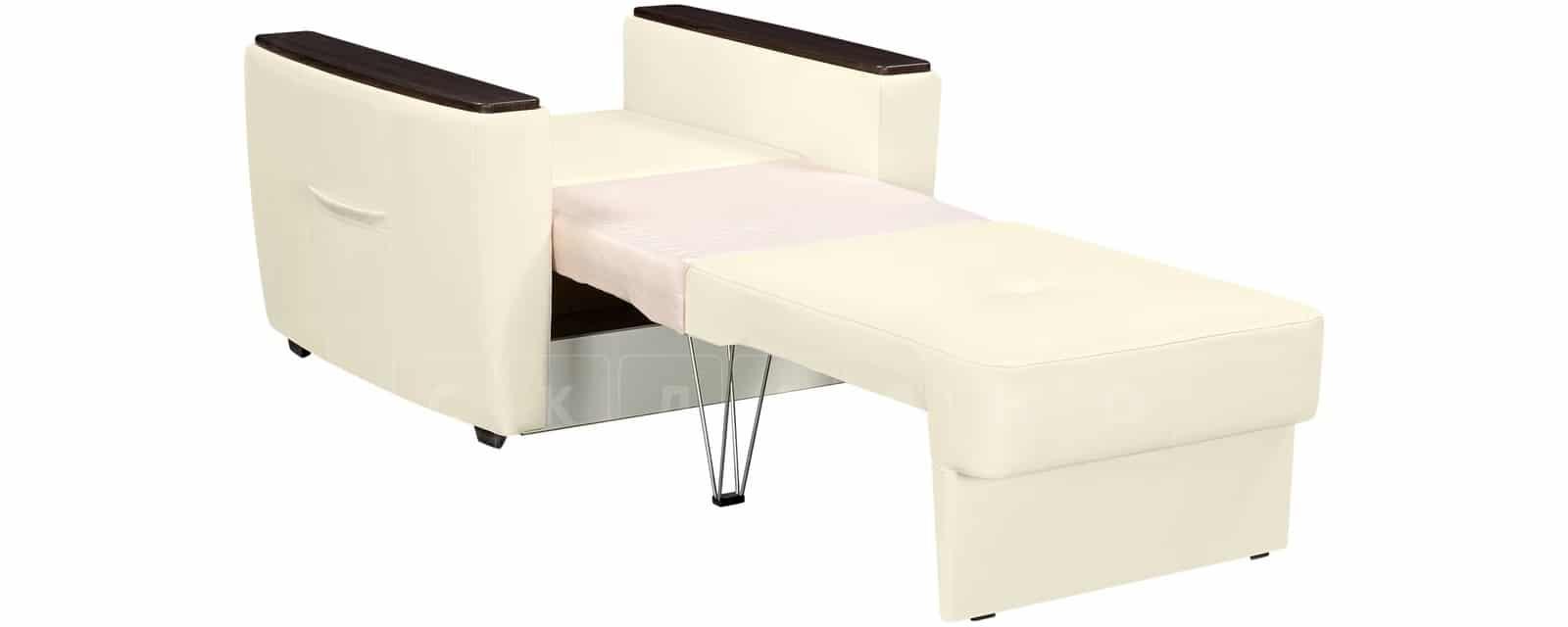 Кресло Майами молочного цвета со спальным местом фото 4 | интернет-магазин Складно
