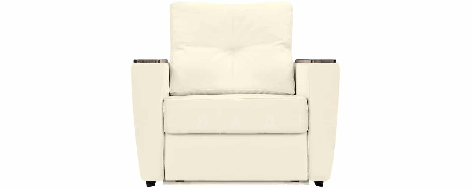 Кресло Майами молочного цвета со спальным местом фото 2 | интернет-магазин Складно
