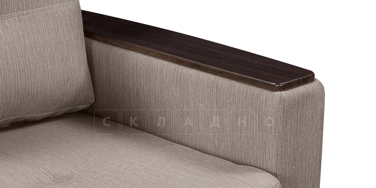 Кресло Майами темно-бежевое со спальным местом фото 6 | интернет-магазин Складно
