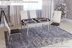 Стол обеденный Квадро раздвижной фото | интернет-магазин Складно