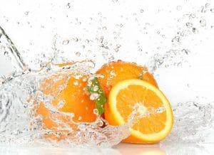 Стол нераздвижной стеклянный с фотопечатью Апельсин серия 2-11043 фото | интернет-магазин Складно