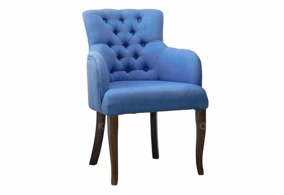Стул — кресло Лаунж с высокими подлокотниками с каретной стяжкой фото 1 | интернет-магазин Складно