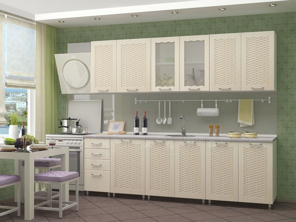 Кухонный гарнитур Изабелла 2,5 м фото 3 | интернет-магазин Складно