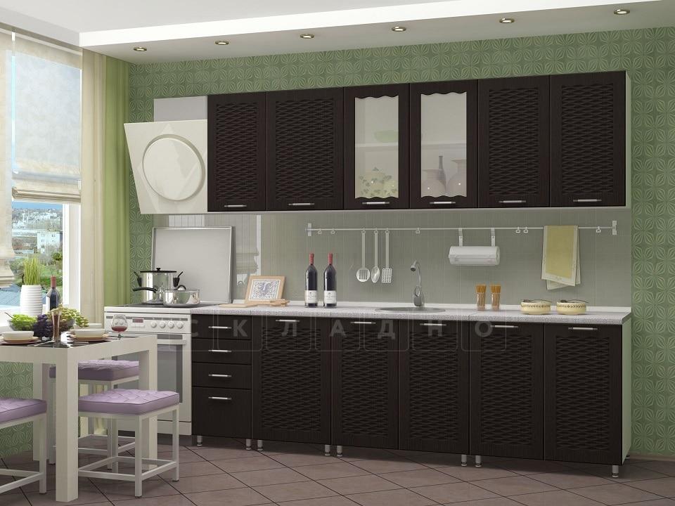Кухонный гарнитур Изабелла 2,5 м фото 2 | интернет-магазин Складно