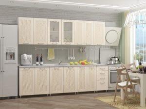 Кухонный гарнитур Изабелла 2,6 м 23270 рублей, фото 2 | интернет-магазин Складно