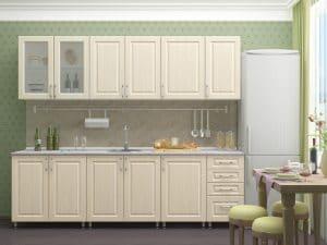 Кухонный гарнитур Венеция 2,5 м  16790  рублей, фото 1 | интернет-магазин Складно