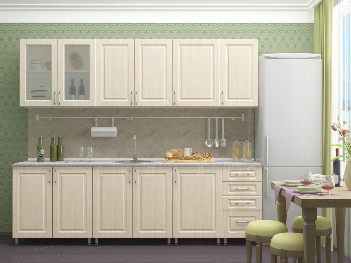 Кухонный гарнитур Венеция 2,5 м фото 1 | интернет-магазин Складно
