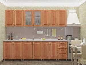 Кухонный гарнитур Венеция 2,6 м 25420 рублей, фото 2   интернет-магазин Складно