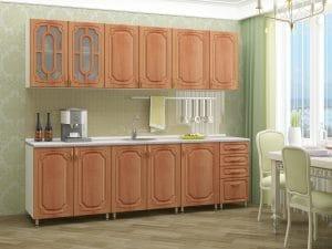 Кухонный гарнитур Жасмин 2,5 м 25990 рублей, фото 2 | интернет-магазин Складно